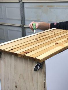 Installation of slats was super easy!