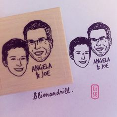 Custom Portrait Stamp @lilimandrill www.lilimandrill.fr @etsy #savethedate #EtsyGifts #selfie #etsywedding #wedding #bridesmaid #bride #diy #giftforcouple #portraitstamp #stamp #personalizedgift #gift #weddinggift #Love #lovers #engaged #uniquegift #bacheloretteparty #instagood #instawedding #weddingidea