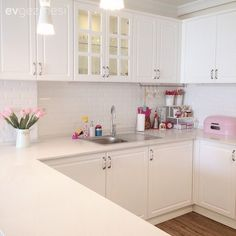 Haus von Esra – Emine Bircan – Join the world of pin Kitchen Redo, Kitchen Storage, Kitchen Dining, Kitchen Cabinets, Big Kitchen, Home Room Design, House Design, Design Rustique, Expandable Dining Table