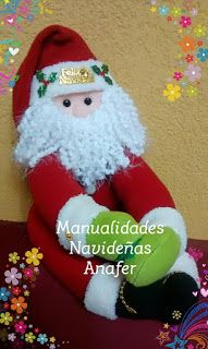 Manualidades Anafer: Muñecos portatoallas - Toalleros Elf On The Shelf, Christmas Stockings, Holiday Decor, Home Decor, Cleaning Supplies, Feltro, Baby Dolls, Dressmaking, Xmas Ornaments