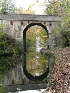 Bridge over the Shropshire Union canal near Brewood, Staffordshire, England.