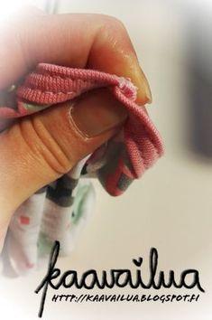 Ohje kantatun sauman litistämiseeen. Sewing Hacks, Sewing Tutorials, Sewing Tips, Sewing Ideas, Sewing Clothes, Diy And Crafts, Knitting, Floral, Handicraft Ideas