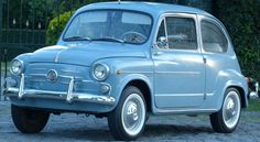 Fiat 600 D 1964 Maintenance of old vehicles: the material for new cogs/casters/gears/pads could be cast polyamide which I (Cast polyamide) can produce Fiat 600, Retro Cars, Vintage Cars, Bus Engine, Maserati, Ferrari, Antique Cars For Sale, Moto Car, Good Looking Cars