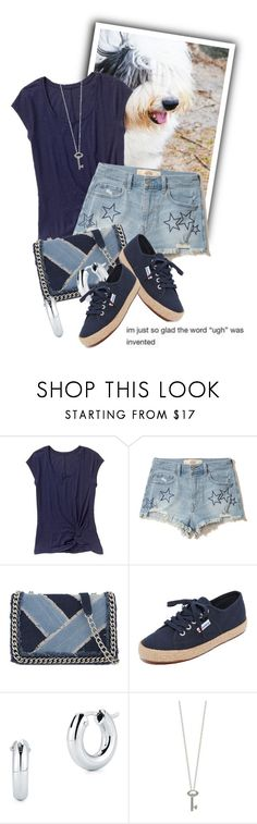 """""""i'm so glad the word """"ugh"""" was invented"""" by queenrachietemplateaddict ❤ liked on Polyvore featuring Gap, Hollister Co., ALDO, Superga and Roberto Coin"""