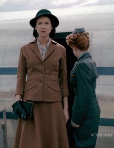 Claire Fraser (Caitriona Balfe) in Season Two of Outlander on Starz via http://outlander-online.com/