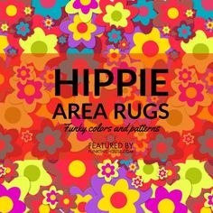 Enough with the boring flooring! Go a little wild and decorate with colorful designs and patterns with this selection of funky hippie area rugs. Orange Home Decor, Funky Home Decor, Home Decor Items, Orange House, Floor Decor, Room Themes, Decoration, Office Decor, Creative Design