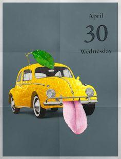 30/04/2014 Lemoncio #collage illustration collage by Gustavo Solana