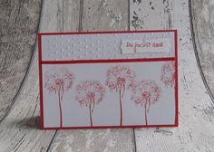 Grußkarte Aufmunterung Du packst das Pusteblumen von FrolleinKarLa