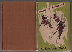 1947 Sons of Solomon by C. Lestock Reid Vintage Lost Race Adventure in DJ