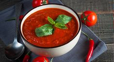 10 рецептов приготовления гаспачо - испанского томатного супа - Сыроедение рецепты