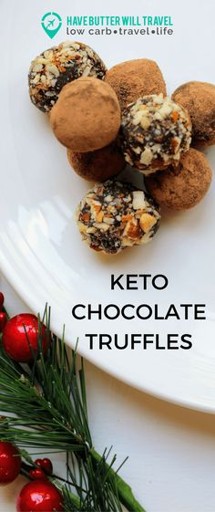 This keto Chocolate truffle recipe is quick and easy to make and will satisfy your sweet tooth this Christmas. Warning: these are super addictive.