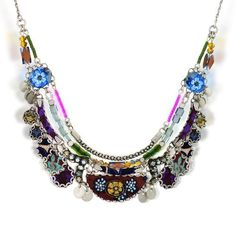 Ayala Bar Plum Royale Necklace, Fall-Winter 2013 The Hip Collection N9504  Price : $204.00 http://www.artazia.com/Royale-Necklace-Fall-Winter-The-Collection/dp/B00EDLW82K