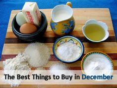 The Best Things to Buy in December via MrsJanuary.com #savemoney #frugal