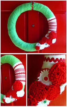 pen & paint: Ohhhhh Christmas Wreath