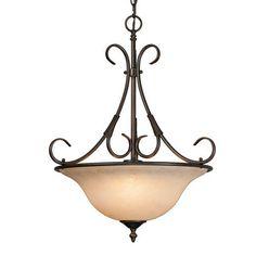 Golden Lighting 8606-3P RBZ Homestead Pendant Bowl, Rubbed Bronze Finish by Golden Lighting, http://www.amazon.com/dp/B000YQ9NWG/ref=cm_sw_r_pi_dp_Ob3trb19G1J33