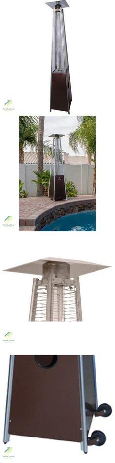 Patio Heaters 106402: Pyramid Patio Warmer Outdoor Gas Heater Dancing  Flames  U003e BUY IT