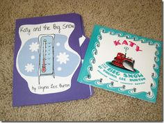 Katy and the Big Snow {ideas from Totally Tots}