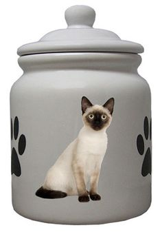 siamese cat cookie jar -