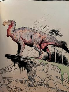 Dinosaur Drawing, Dinosaur Art, Reptiles, Disney Dinosaur, Cool Dinosaurs, Alien Worlds, Prehistory, Monster, Jurassic Park