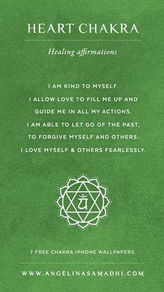 or Heart Chakra Healing Affirmations Chakras Reiki, Les Chakras, Atem Meditation, Mindfulness Meditation, Meditation Music, Mindfulness Therapy, Mindfulness Benefits, Mindfulness Training, Mindfulness Techniques