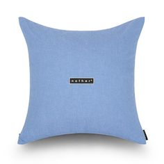 nother Light Washed Denim Cushion