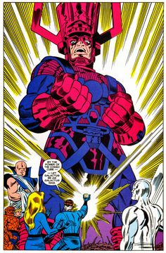"""""""Hey squirrel girl, when you see thanos tell him he's not just square. he's a cosmic cube"""" -Galactus Marvel Comics Superheroes, Marvel E Dc, Marvel Villains, Marvel Comic Universe, Marvel Comic Books, Comic Books Art, Alex Ross, Comic Book Artists, Comic Artist"""