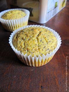 Muffin salati semi di papavero e  farina di mais by Fiordilatte