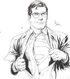 Clark+Kent+by+Gary+Frank