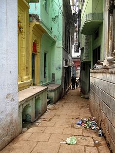 Narrow Streets of Varanasi