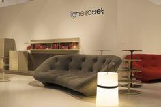 Maison&Objet : Sofa PLOUM par Ronan et Erwan Bouroullec pour Ligne Roset