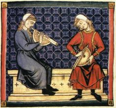 Illumination from the Spanish manuscript Cantigas de Santa Maria, written in the 13th century