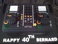 dj mixer birthday cake - Hledat Googlem