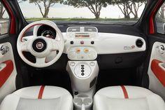 2013 Fiat 500 Electric Car
