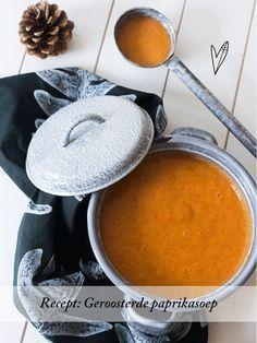 Recept: Geroosterde paprikasoep