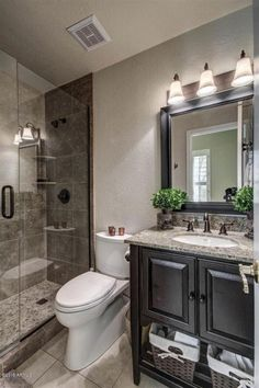 75 efficient small bathroom remodel design ideas (42)