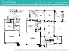 Floor Plan 3 at Seaside Ridge in Encinitas