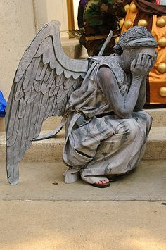Thank you Dr. Who for making me terrified of angel statues. Can never look at them again!