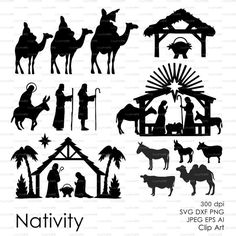Sale 50% Nativity, Christ, Jesus, Christmas, Virgin, Jerusalem eps, svg, dxf, ai, jpg, png Vector Decal Vinyl Cutting Silhouette Cameo #design #silhouettecameo