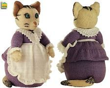 ALAN DART - TABITHA TWITCHIT - BEATRIX POTTER ORIGINAL TDB TOY KNITTING PATTERN