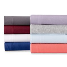 Bed Bath And Beyond Jersey Sheets Fascinating Intelligent Design® Cotton Blend Jersey Knit Sheet Set  Intelligent Review