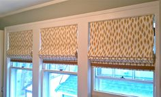 Roman shades are like artwork for the wall; they offer a great way to showcase your favorite fabric. And, when mounted on the inside of...