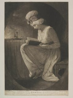 Serena, Smith, John Raphael, 1782, Mezzotint on paper. Bequeathed by Rev. Alexander Dyce