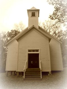 Primitive Baptist Church in #Cades #Cove