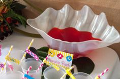Luau Theme Summer Party Ideas | Photo 20 of 30 | Catch My Party