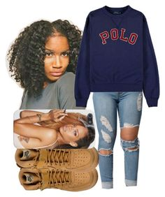 """""""There He Go:// Kodak Black """" by shamyadanyel ❤ liked on Polyvore featuring Ralph Lauren, NIKE, Polo Ralph Lauren and Ray-Ban"""