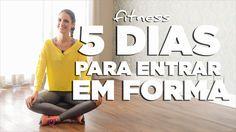 TV Chris Flores: 5 dias de exercício que vão mudar sua vida e seu corpo