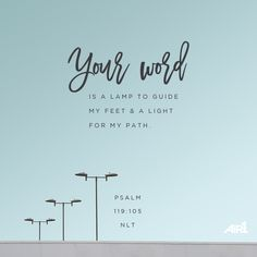 #VOTD #Bible #HisWord #Light #Guidance