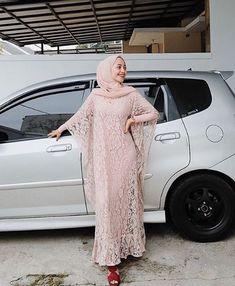 Kebaya Muslim, Kebaya Hijab, Kebaya Dress, Dress Pesta, Muslim Dress, Model Kebaya Brokat Modern, Kebaya Modern Dress, Abaya Fashion, Muslim Fashion