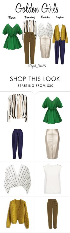 """""""Golden Girls"""" by crystal-castleberry on Polyvore featuring Dorothy Perkins, Vionnet, River Island, Free People, Finders Keepers, Chicwish, Topshop and modern"""