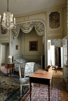 Château de La Motte-Tilly, chambre Vindé -
